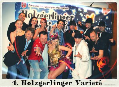 Gruppenfoto vom 4. Holzgerlinger Variete