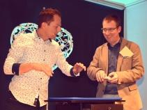 Timo Marc mit Carsten Scharfenberg