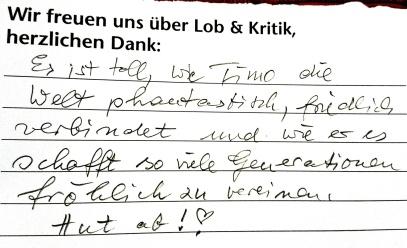 Empfehlung Holzgerlinger Varieté von und mit Timo Marc