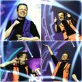 Collage von Auftritt mit Timo Marc